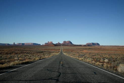 Kayenta, USA – «Au loin les racines»